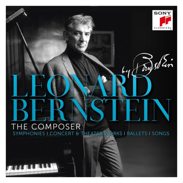 Leonard Bernstein - The Composer Box Set Cover Image