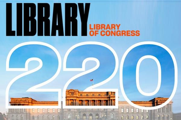 The Library of Congress turns 220!