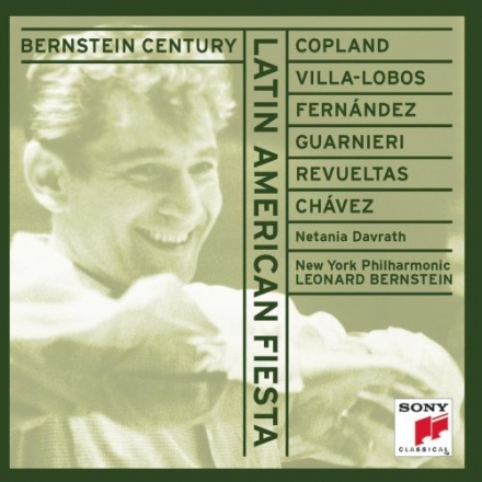 Discography leonard bernstein for Aaron copland el salon mexico