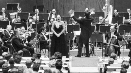 1958 Human Rights Day Concert - Soprano Renata Tebaldi, Leonard Bernstein, New York Philharmonic, courtesy of the UN Audio Visual Library